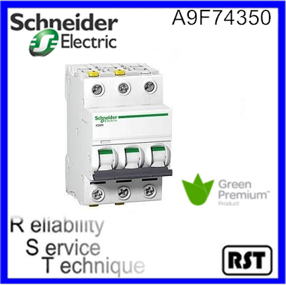A9F74350 Schneider Merlin Gerin electrical mcb Acti9 iC60NC 3P 50Amp Miniature Circuit breaker