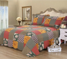 country style adult patchwork quilt