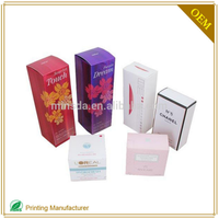 China Custom Cosmetic Face Cream Paperboard Cardboard Packaging Box