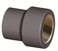 pvc pressure fittings DIN 8063 Copper Threaded Reducer