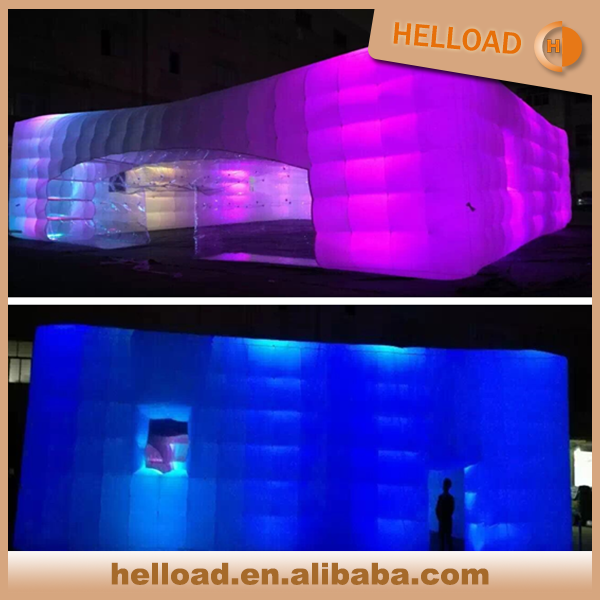 custom made large led inflatable party event tent marquee wholesale