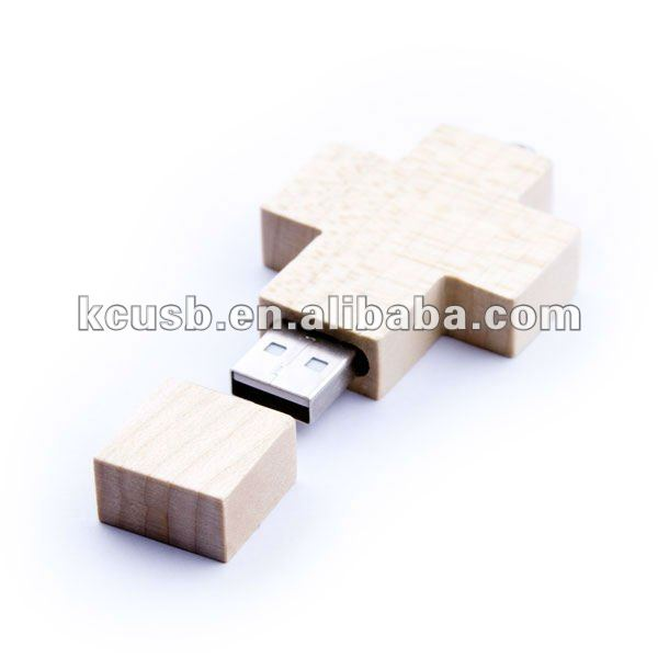 cross wood usb memory drive,custom memory disk,pendrive
