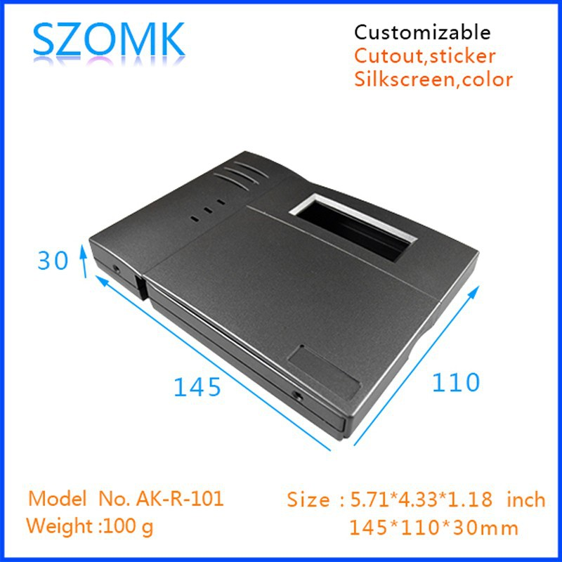 RFID Door Access Control System plastic housing with OEM from shenzhen 145x110x30mm