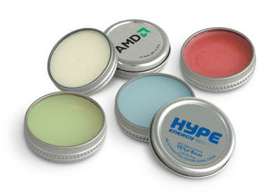Promotional Round Tin Lip Balm