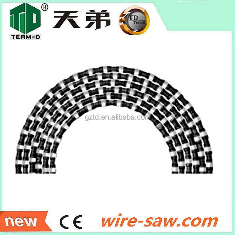 High Quality Hot Sales Diamond Wire Rope Saw For Stone Cutting