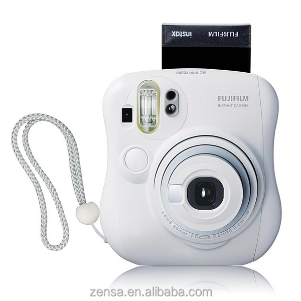 Fujifilm Fuji Instax Mini 25 Mini25 Camera Instant Film Polaroid Photo - White