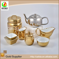 Custom top quality restaurant LD14071 middle east style tea set made in China