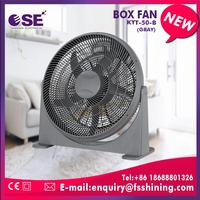 new fashion home appliance box fan with handle full copper motor with fuse