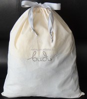 2015 handmade cotton fabric dust pouch,fabric recycled drawstring bag,cheap fabric bags with drawstring