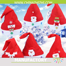 China Manufacturer Factory Cheap Christmas Dancing Santa Hat