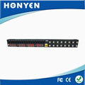 16 channel power, video, data 3 in 1 passive video balun HY-516B