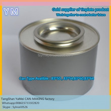 Empty tin plate cans for food package / food tin boxes