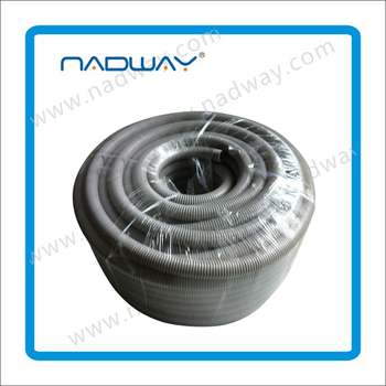 Highly flexible & floatable pe double wall plastic corrugated pipe