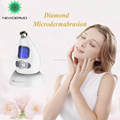 2017 gift NEWDERMO Power Peel Handheld Skin Dermabrasion Machine 5 in 1 remove wrinkle