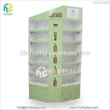 HIC Wholesale New Style Floor Standing Foldable 3 Sided Display Cardboard