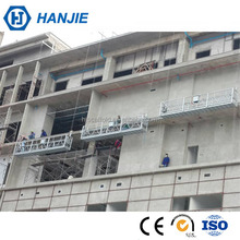 ZLP building electric rope hanging platform suspended access equipment