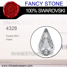 Wedding Dress Swarovski Elements 10x6mm Crystal Clear (001) Sew On Rhinestone