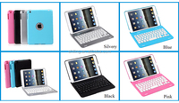 7.9 inch marketing hot sell bluetooth 3.0 new colorful keyboard cover for ipad mini
