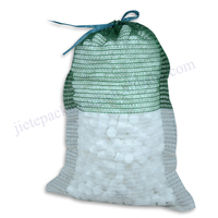 firewood,and vegetable packaging drawstring PE mesh bag for sale