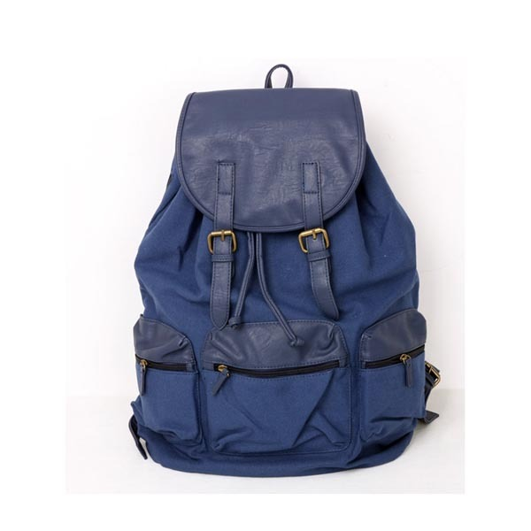 CB199 Wholesale Top Quality Cheap Stylish Canvas Backpack School Canvas Backpack for Teenagers