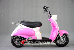Cheap small electric scooter moped 350W electric motorcycle with pedals