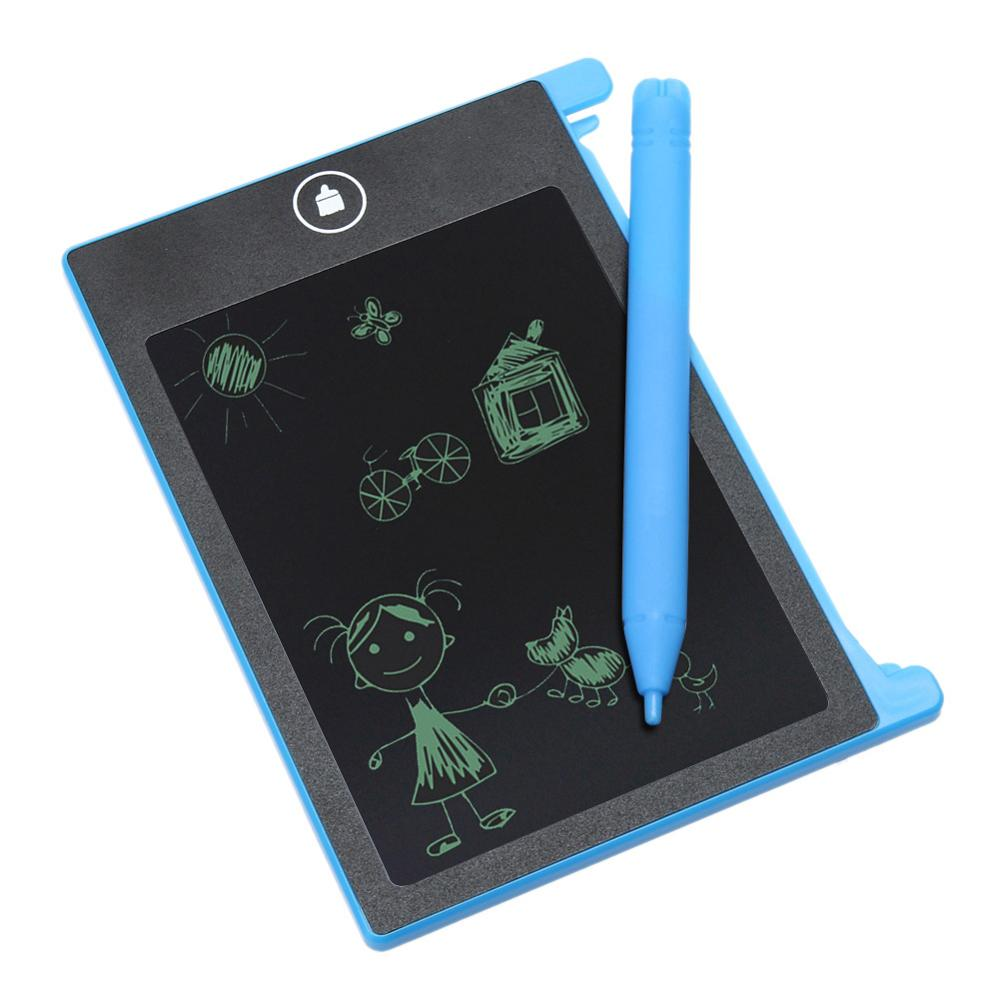 "2017 Colorful 10"" LCD Graphics Drawing Pen Mini Tablet Writing Board with free stylus writing pad for students gift"