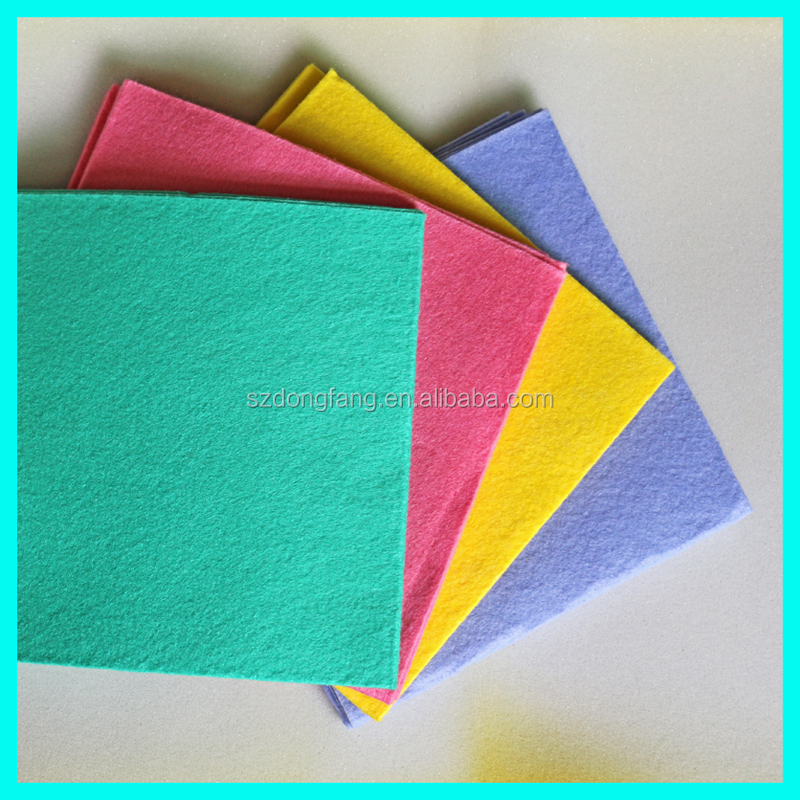 Nonwoven fabric cleaning wipes (NEEDLE PUNCHED)