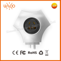 Safety plug wifi smart home automation remote control China supplier wifi light socket adapter