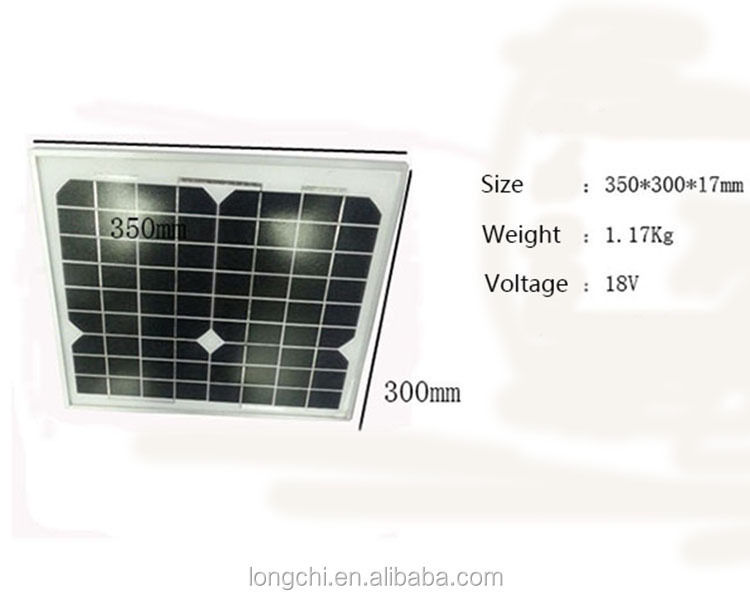 solar power system with radio for home lighting and mobile charging