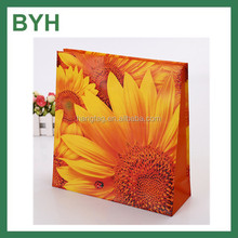 Color Print Sunflower Pattern Gift Paper Bags