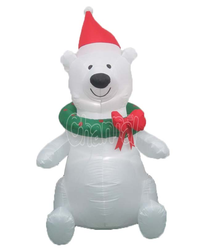Inner lights Inflatable Bear Inflatables Animal Bear, Inflatable Christmas Supplies Product on Alibaba