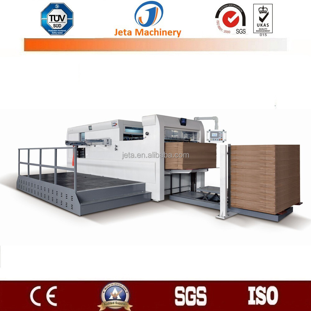 [JT-MHC1300BL]corrugated paper semi auto die cutting machine