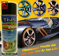 Peel off liquid rubber coating for car clear rubber coating spray