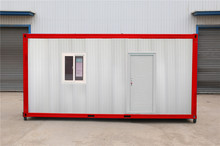 Popular Flat kiosk prefab shipping containers for sale 10ft