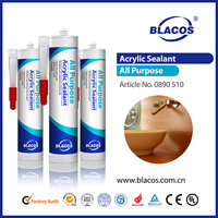 Eco-Friendly Water Based Paintable Paintable Acrylic Sealant
