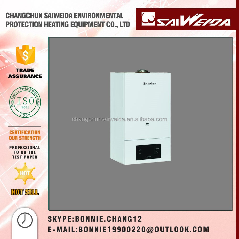 Home Use Condensing Gas Combi Boiler Wall Mounted Convector Heater For Sale