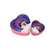 low price high quality wedding favors heart shape candy/chocolate packaging tin can