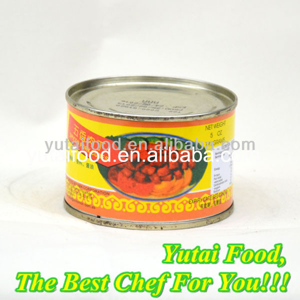 Cheap Canned Food Canned Spiced Pork Cubes for Sell
