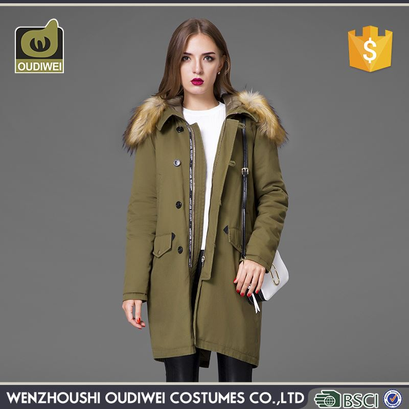New Arrival good quality snug cotton-padded coat for ladies
