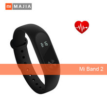 Original xiaomi mi band 2 with heart rate monitoring 0.42inch OLED display touchpad smart bracelet