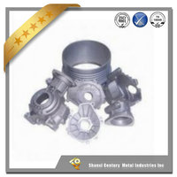 resin shell high precision stainless steel sand casting