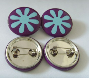 Tin badge clips, blank button badge wholesale with cheap price