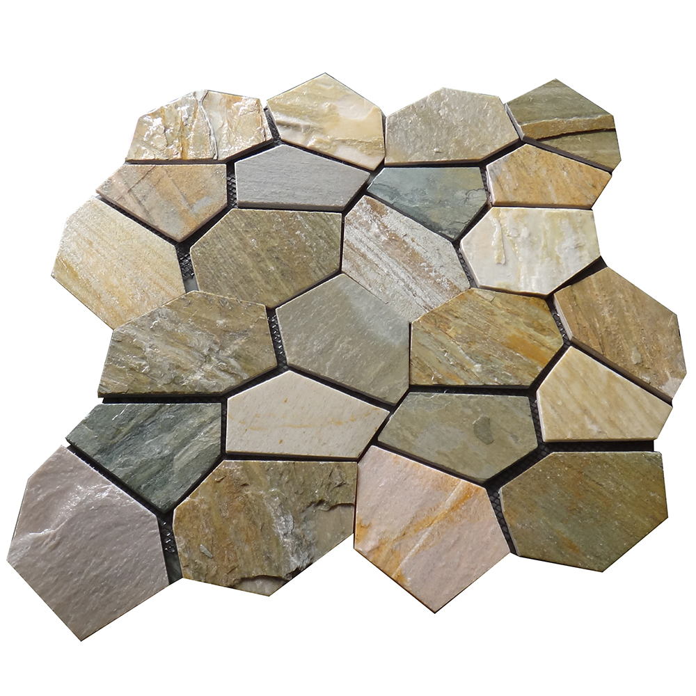 HS-WT113 Best design lower price irregular brick chinese flat stones