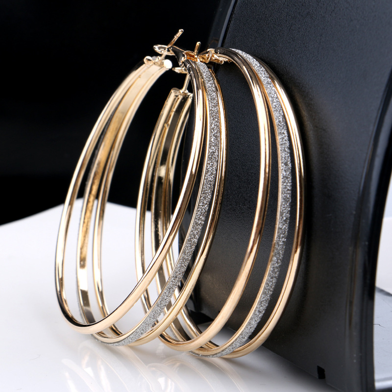 Fashion Statement Multilayer Simple Ear Ring Earrings Wholesale Women