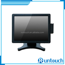 "Runtouch RT-1700 Money Saving Good quality hot sale Touch Screen 17"" pos monitor with card reader module MSR"