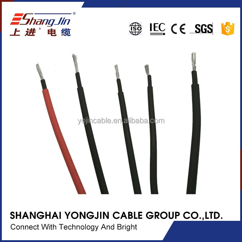 flexible wire MC3 MC4 solar PV connector cable