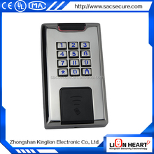 widely used stainless steel access control keypad