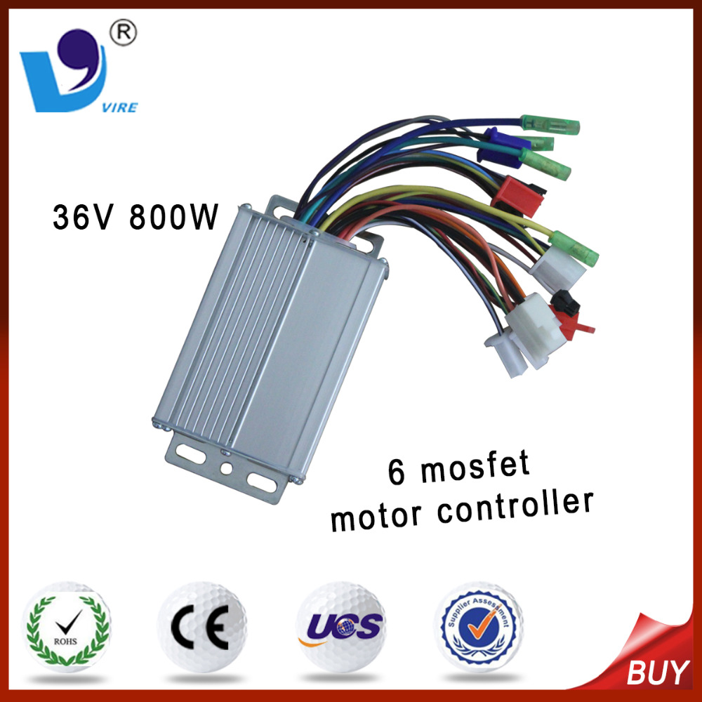 Custom high quality 6 tube dc motor controller 800w for tricycle