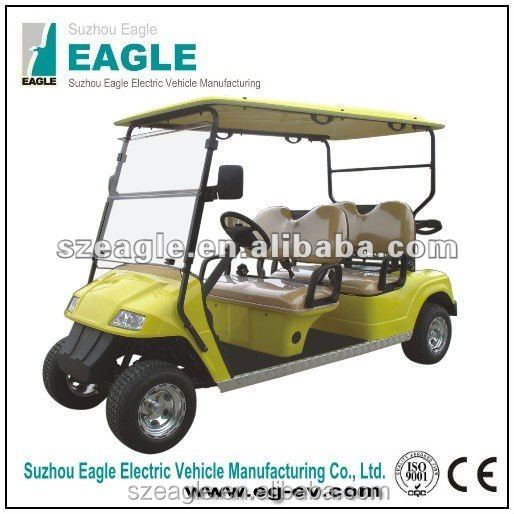 golf cart electric , new condition 4 person, with ce approved cheap