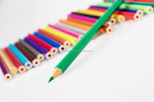24 colored pencils set for students